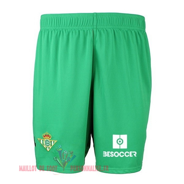 Maillot Om Pas Cher Kappa Domicile Shorts Real Betis 2018-2019 Vert