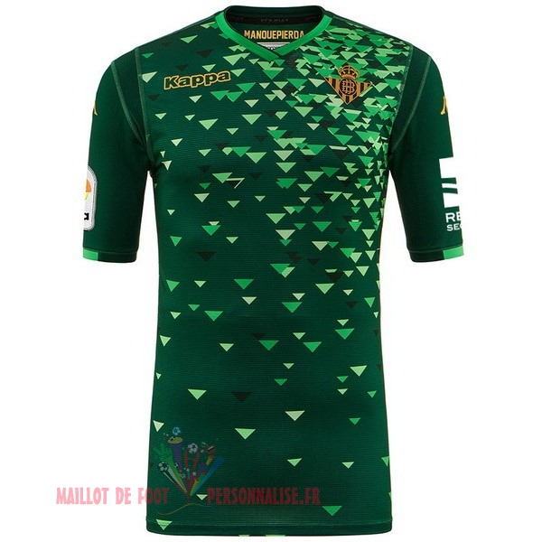 Maillot Om Pas Cher Kappa Exterieur Maillots Real Betis 2018-2019 Vert