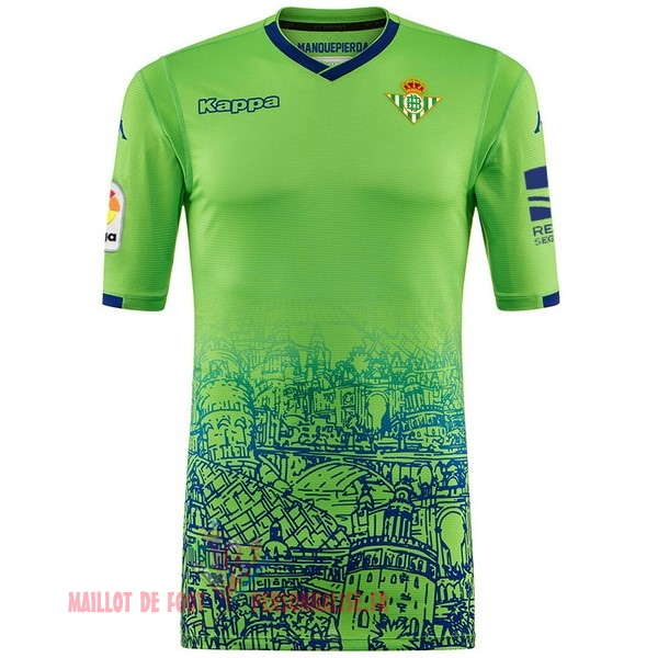 Maillot Om Pas Cher Kappa Third Maillots Real Betis 2018-2019 Vert