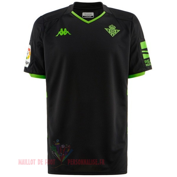 Maillot Om Pas Cher Kappa Exterieur Maillot Real Betis 2019 2020 Noir