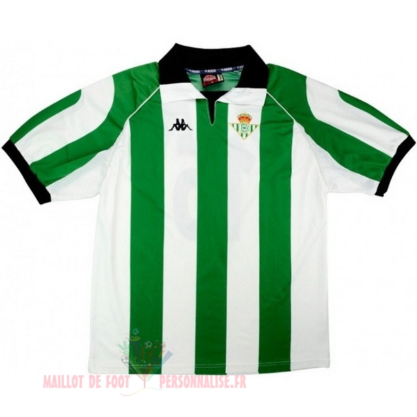 Maillot Om Pas Cher Kappa Maillot Real Betis Retro 1998 1999 Vert