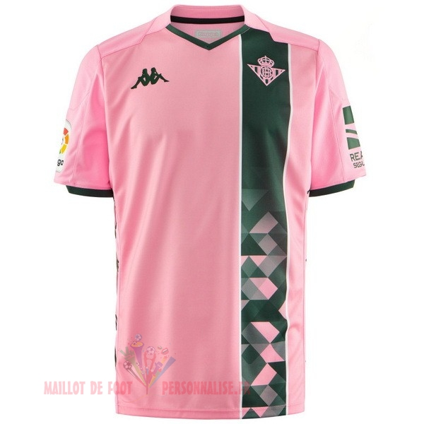 Maillot Om Pas Cher Kappa Third Maillot Real Betis 2019 2020 Rose