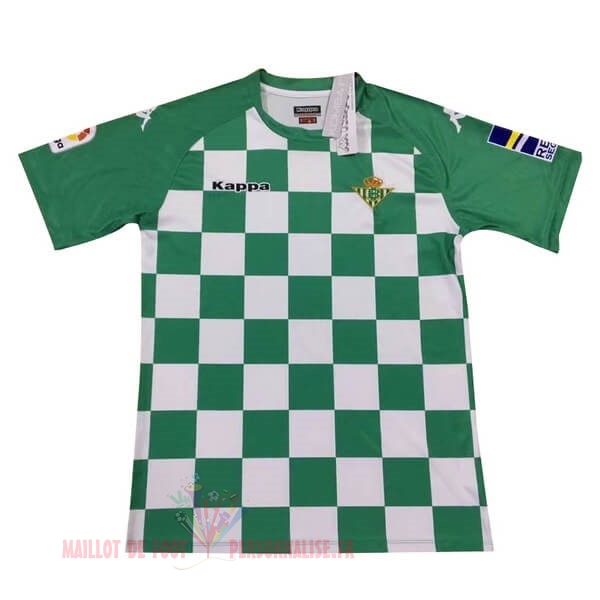 Maillot Om Pas Cher Kappa Édition commémorative Maillot Real Betis 2019 2020 Vert