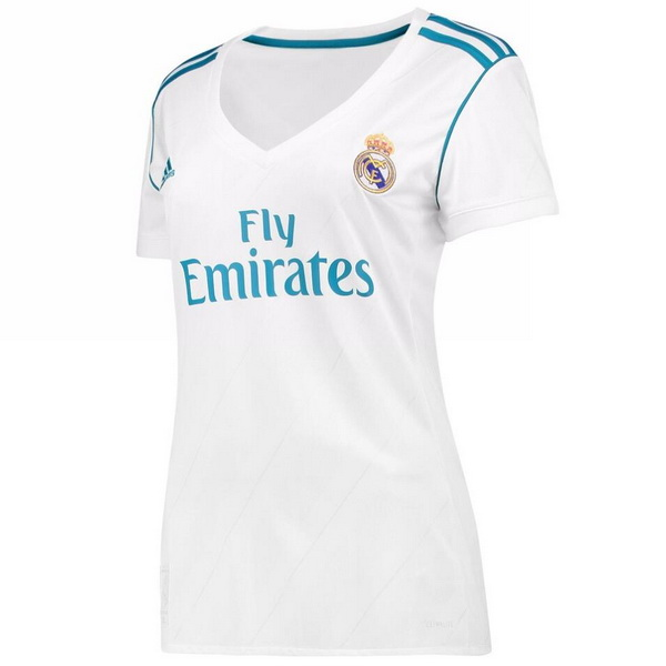 Maillot Om Pas Cher adidas Domicile Maillots Femme Real Madrid 2017 2018 Blanc