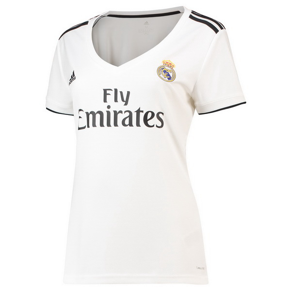 Maillot Om Pas Cher adidas Domicile Maillots Femme Real Madrid 2018 2019 Blanc