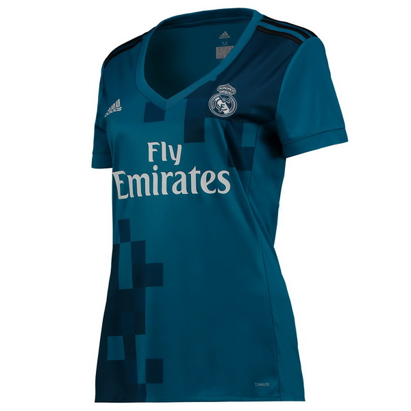 Maillot Om Pas Cher adidas Third Maillots Femme Real Madrid 2017 2018 Bleu