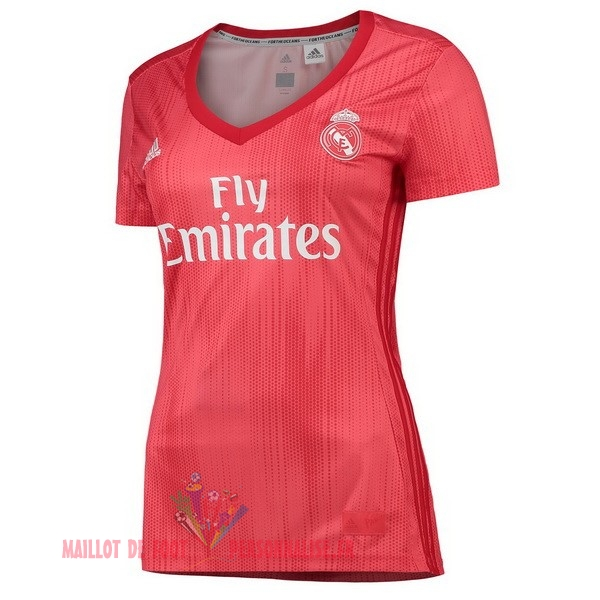 Maillot Om Pas Cher adidas Third Maillots Femme Real Madrid 2018-2019 Rouge