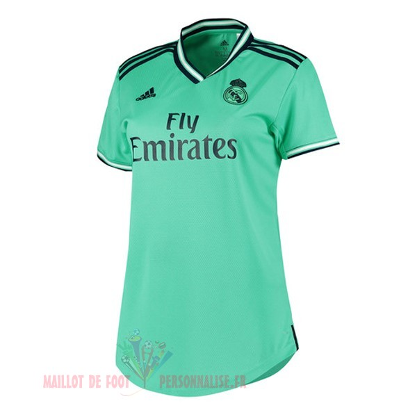 Maillot Om Pas Cher adidas Third Maillot Femme Real Madrid 2019 2020 Vert