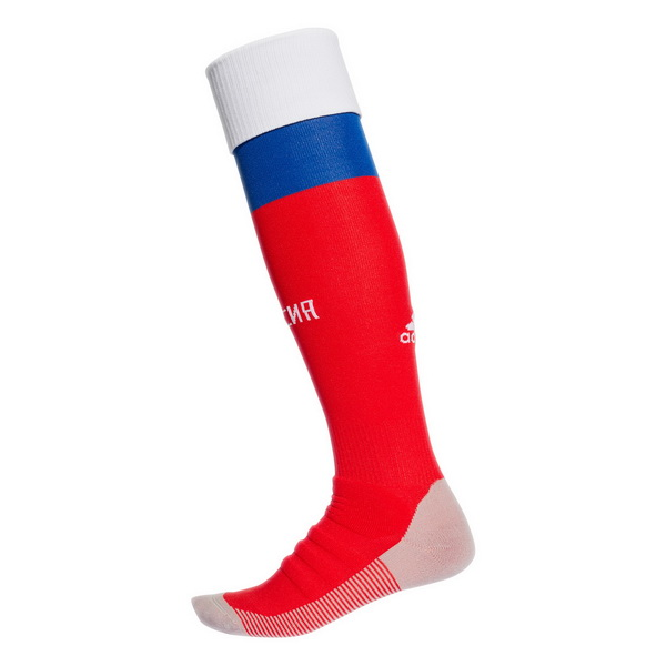 Maillot Om Pas Cher adidas Domicile Chaussettes Russie 2018 Rouge