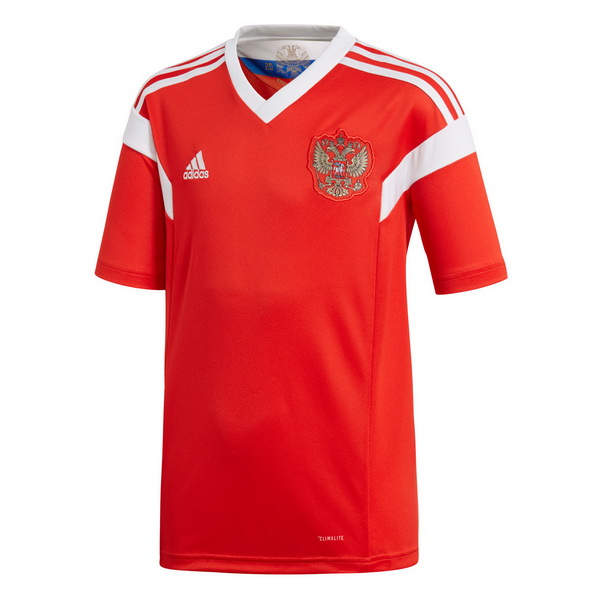 Maillot Om Pas Cher adidas Domicile Maillots Russie 2018 Rouge