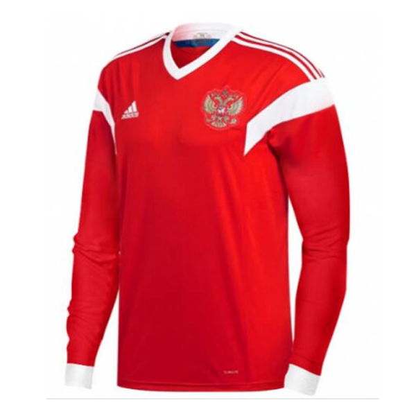 Maillot Om Pas Cher adidas Domicile Manches Longues Russie 2018 Rouge