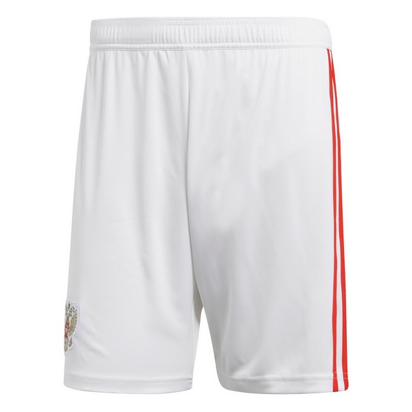 Maillot Om Pas Cher adidas Domicile Shorts Russie 2018 Blanc