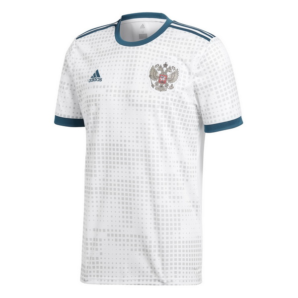 Maillot Om Pas Cher adidas Thailande Exterieur Maillots Russie 2018 Blanc
