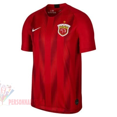 Maillot Om Pas Cher Nike Domicile Maillot SIPG 2019 2020 Rouge