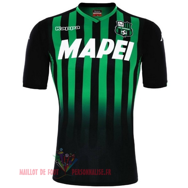 Maillot Om Pas Cher Kappa Domicile Maillots Sassuolo 2018-2019 Vert
