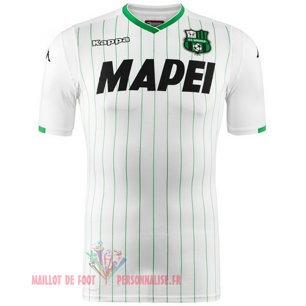 Maillot Om Pas Cher Kappa Exterieur Maillots Sassuolo 2018-2019 Blanc
