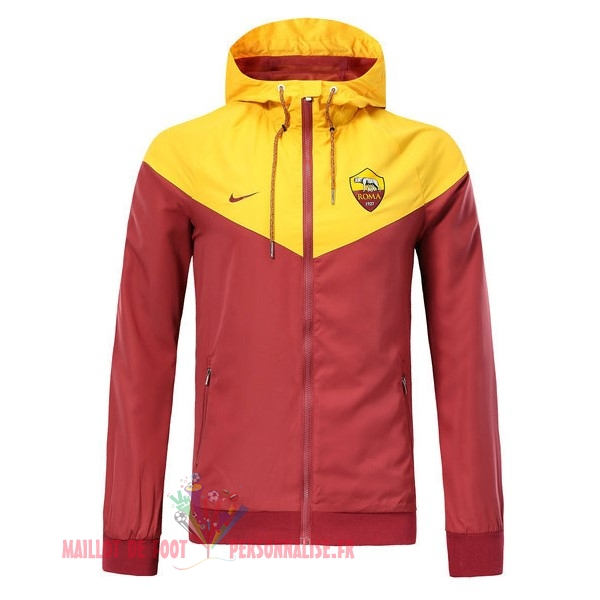 Maillot Om Pas Cher Nike Coupe Vent AS Roma 2018-2019 Rouge