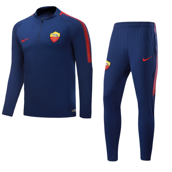 Maillot Om Pas Cher Nike Survêtements AS Roma 2017 2018 Bleu Marine Rouge