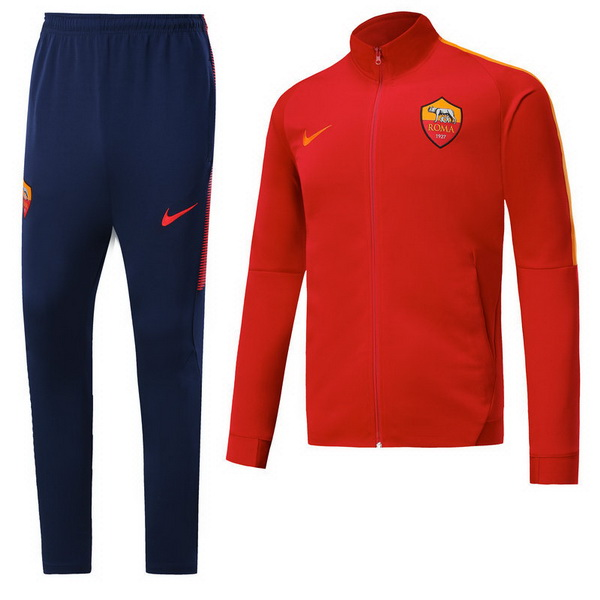 Maillot Om Pas Cher Nike Survêtements AS Roma 2017 2018 Rouge Bleu Marine