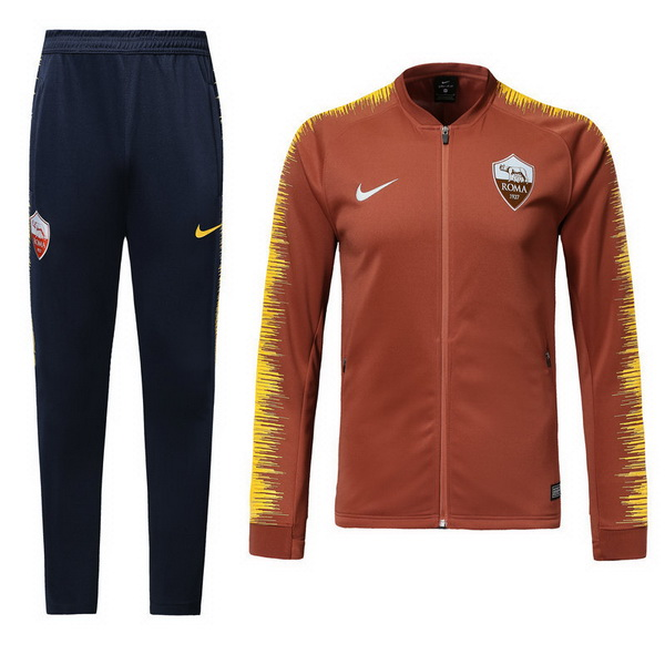 Maillot Om Pas Cher Nike Survêtements AS Roma 2018 2019 Orange