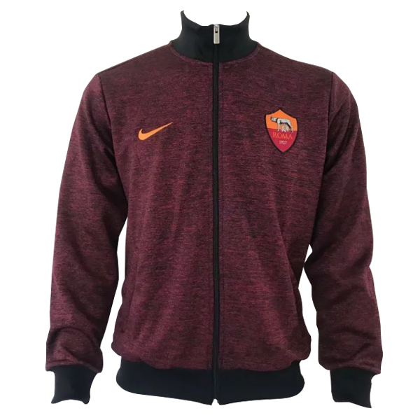 Maillot Om Pas Cher Nike Veste AS Roma 2017 2018 Rouge Marine