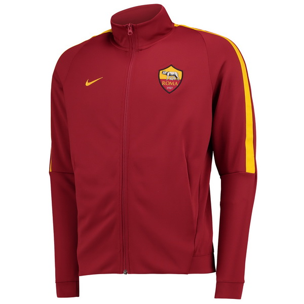 Maillot Om Pas Cher Nike Veste AS Roma 2017 2018 Rouge