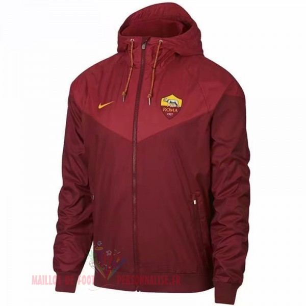 Maillot Om Pas Cher Nike Coupe Vent AS Roma 2018 2019 Rouge Marine