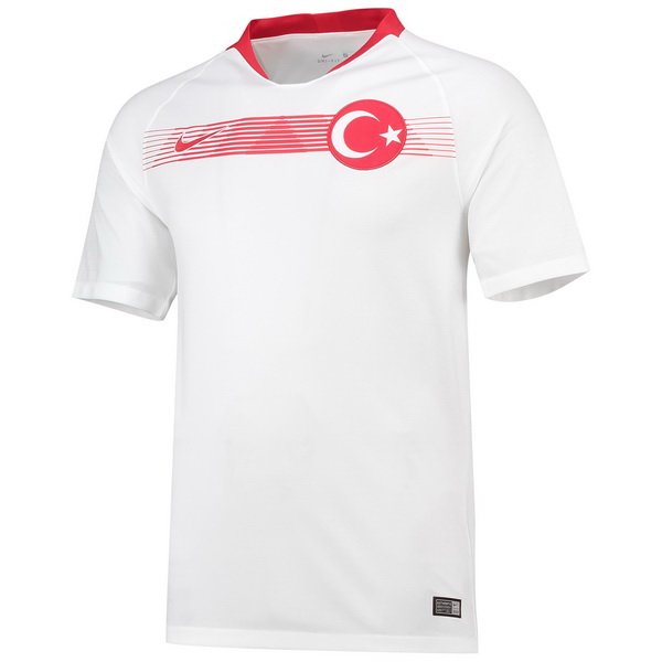 Maillot Om Pas Cher Nike Exterieur Maillots Turquie 2018 Blanc