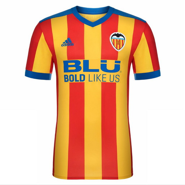 Maillot Om Pas Cher adidas Exterieur Maillots Valence 2017 2018 Rouge Jaune