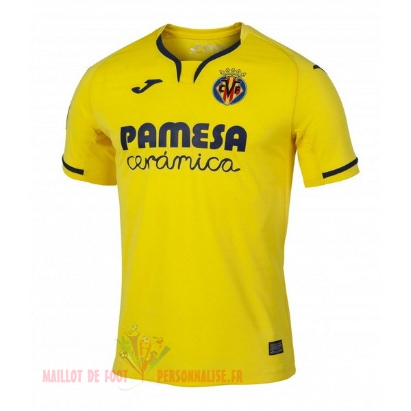 Maillot Om Pas Cher Joma Domicile Maillot Villarreal 2019 2020 Jaune