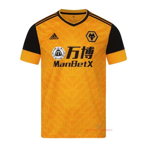 Maillot Om Pas Cher adidas Domicile Maillot Wolves 2020 2021 Jaune